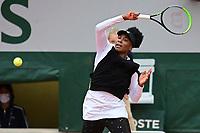 27th September 2020, Roland Garros, Paris, France; French Open tennis, Roland Garros 2020; Venus Williams (usa)