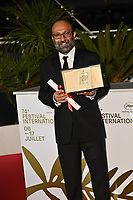 CANNES, FRANCE. July 17, 2021: Asghar Farhadi at the photocall for Cannes Awards 2021 at the 74th Festival de Cannes.<br /> Picture: Paul Smith / Featureflash