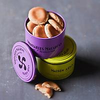 Europe/France/Aquitaine/64/Pyrénées-Atlantiques/Pays Basque/ Saint-Jean-de-Luz: Macarons de chez Adam - Stylisme : Valérie LHOMME