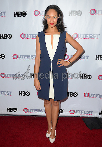 09 July 2015 - Los Angeles, California - Cynthia Addai-Robinson. Arrivals for the 2015 Outfest Los Angeles LGBT Film Festival Opening Night Gala of TIG held at The Orpheum Theater. Photo Credit: Birdie Thompson/AdMedia