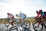 Warren Barguil (FRA) Team Fortuneo-Smasic in action during Stage 1 of the 2018 Artic Race of Norway, running 184km from Vadso to Kirkenes, Norway. 16th August 2018. <br /> <br /> Picture: ASO/Rasmus Kongsore | Cyclefile<br /> All photos usage must carry mandatory copyright credit (© Cyclefile | ASO/Rasmus Kongsore)