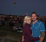 Heidi and Jason at the Great Reno Balloon Races held on Saturday, Sept. 10, 2016.