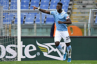 Felipe Corozo Caicedo of SS Lazio celebrates after scoring the goal of 1-0 during the Serie A football match between SS Lazio and ACF Fiorentina at Olimpico stadium in Roma (Italy), January 6th, 2021. Photo Andrea Staccioli / Insidefoto