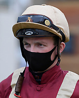 Jockey Rob Hornby during Horse Racing at Salisbury Racecourse on 11th September 2020