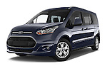 Stock pictures of low aggressive front three quarter view of a 2015 Ford Grand Tourneo Connect Titanium 5 Door Minimpv Low Aggressive