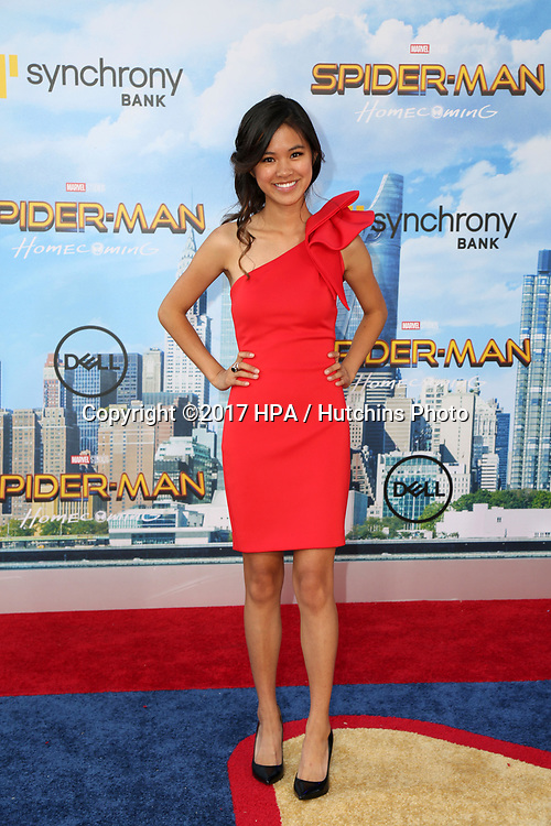 "LOS ANGELES - JUN 28:  Tiffany Espensen at the ""Spider-Man: Homecoming"" at the TCL Chinese Theatre on June 28, 2017 in Los Angeles, CA"