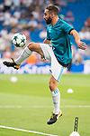 Real Madrid's Daniel Carvajal during UEFA Champions League match between Real Madrid and Apoel at Santiago Bernabeu Stadium in Madrid, Spain September 13, 2017. (ALTERPHOTOS/Borja B.Hojas)