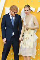 """LONDON, UK. June 18, 2019: Ed Sheeran and Lily James arriving for the UK premiere of """"Yesterday"""" at the Odeon Luxe, Leicester Square, London.<br /> Picture: Steve Vas/Featureflash"""