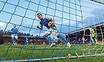 St Johnstone v Partick Thistle…27.01.18…  McDiarmid Park…  SPFL<br />Liam Craig celebrates his penalty<br />Picture by Graeme Hart. <br />Copyright Perthshire Picture Agency<br />Tel: 01738 623350  Mobile: 07990 594431