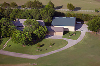 aerial photograph of the Flying T Ranch Airport (41TS), Westminster, Collin County, Texas