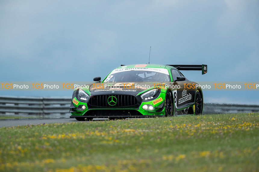 GT3 winners Richard Neary & Sam Neary, Mercedes AMG GT3, Team Abba Racing during the British GT & F3 Championship on 11th July 2021