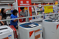 Washing machines being sold in a Carrefour supermarket in Kunming, China. Carrefour plans to open 28 new stores in China this year and the company predicts sales to increase more than 15 percent. Carrefour currently operates more than 130 stores in China. Last year, the retailer opened 22 new stores in the country.