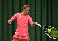March 14, 2015, Netherlands, Rotterdam, TC Victoria, NOJK, Margriet Timmermans (NED)<br /> Photo: Tennisimages/Henk Koster