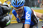 Thomas Danielson (USA) Garmin-Sharp crosses the finish line at the end of Stage 3 of the 99th edition of the Tour de France 2012, running 197km from Orchies to Boulogne-sur-Mere, France. 3rd July 2012.<br /> (Photo by Eoin Clarke/NEWSFILE)