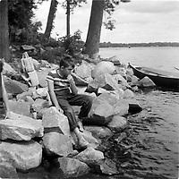 Jeunesse circa 1960<br /> <br /> PHOTO : Agence Quebec Presse