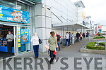 The queue shopping at Smyth's Toys in Manor West Shopping Centre on Monday