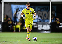LAKE BUENA VISTA, FL - JULY 26: Tim Melia of Sporting KC takes the field during a game between Vancouver Whitecaps and Sporting Kansas City at ESPN Wide World of Sports on July 26, 2020 in Lake Buena Vista, Florida.