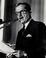 1966<br /> <br /> PHOTO :  Dick Darrell - Toronto Star Archives - AQP