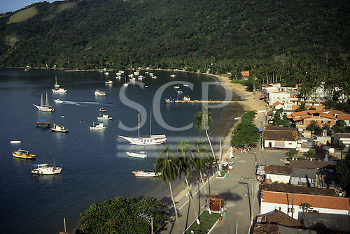 Ilha Grande, Rio de Janeiro, Brazil. An island haven favoured by the rich of Rio and Sao Paulo with private yachts.
