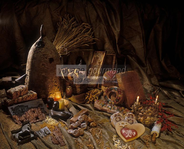 Gastronomie générale: Les pains d'épice