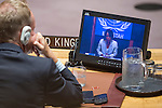Security Council Meeting The question concerning Haiti. Report of the Secretary-General on the Unite