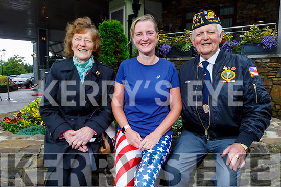 The Mulcahy family from Newcastlewest celebrating the 4th of July in the Rose Hotel on Saturday.<br /> L to r: Kathleen, Ellen and Pat Mulcahy.