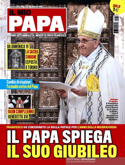 Il Mio Papa Italian Magazine Pope Francis.<br /> Photograph by Stefano Spazian