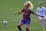 Liga IBERDROLA 2020-2021. Jornada: 18.<br /> FC Barcelona vs R. Madrid: 4-1.<br /> Kheira Hamraoui.