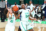 Mean Green Women's Basketball v UTSA at Super Pit in Denton on January 8, 2021
