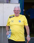 St Johnstone v FC Minsk...01.08.13 Europa League Qualifier at Neman Stadium, Grodno, Belarus...<br /> Tommy Campbell in the Neman Stadium<br /> Picture by Graeme Hart.<br /> Copyright Perthshire Picture Agency<br /> Tel: 01738 623350  Mobile: 07990 594431