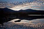 Sunset over Mt Katahdin, Baxter State Park, ME