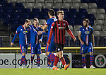 Inverness Caley Thistle v St Johnstone....20.01.15  SPFL<br /> Billy McKay celebrates his goal<br /> Picture by Graeme Hart.<br /> Copyright Perthshire Picture Agency<br /> Tel: 01738 623350  Mobile: 07990 594431