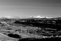 Oban from Carn Breaugach, the highest point of Kerrera, Argyll & Bute on Scotland's West Coast.
