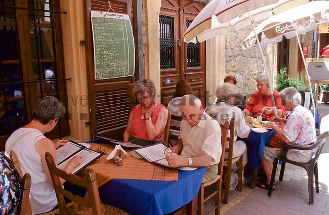 Strassen-Restaurant, street restaurant, Nicosia, Nikosia, street-life, Cyprus, Zypern