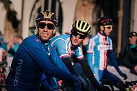 Vincenzo Nibali (ITA/Bahrain-Merida) before the start<br /> <br /> MEN ELITE ROAD RACE<br /> Kufstein to Innsbruck: 258.5 km<br /> <br /> UCI 2018 Road World Championships<br /> Innsbruck - Tirol / Austria