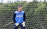 Goalkeeper Barry Richardson during the Wycombe Wanderers 2016/17 Pre Season Training Session at Wycombe Training Ground, High Wycombe, England on 1 July 2016. Photo by Andy Rowland / PRiME Media Images.