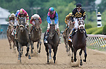May 18, 2013, Oxbow (#6), Gary Stevens up, wins the 138th Preakness Stakes at Pimlico Race Course in Baltimore, MD.   (Joan Fairman Kanes/Eclipse Sportswire)