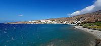 The picturesque bay Gianaki in Tinos island, Greece