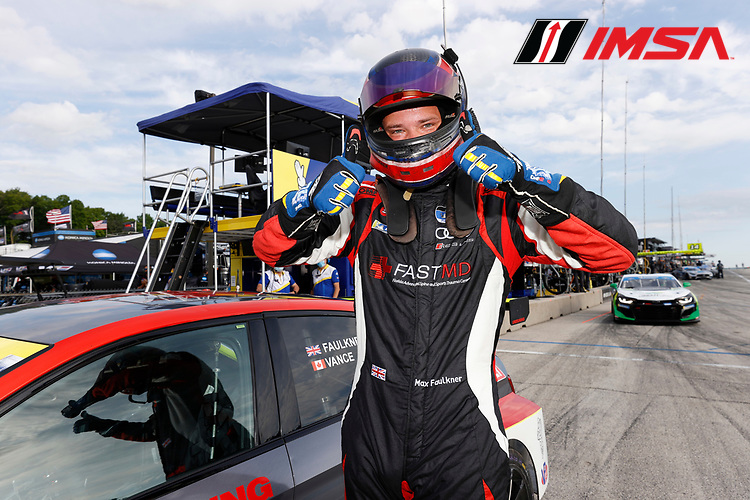 #23 FASTMD Racing with Speed Syndicate Audi RS3 LMS TCR, TCR:  Max Faulkner, Motul Pole Award