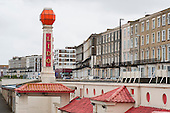 Guesthouses and hotels in Cliftonville, Margate, once a sought-after holiday resort, are now used to house homeless families.