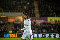 Renato Sanches of Swansea City is substituted during the Premier League match between Swansea City and Bournemouth at The Liberty Stadium, Swansea, Wales, UK. Saturday 25 November 2017