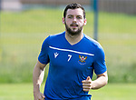 St Johnstone Training….22.02.19  McDiarmid Park, Perth<br />Drey Wright pictured back in training after his long injury lay off<br />Picture by Graeme Hart.<br />Copyright Perthshire Picture Agency<br />Tel: 01738 623350  Mobile: 07990 594431