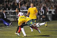 Anthony O'Garra #8, Sullivan Silva...AC St Louis were defeated 1-2 by Austin Aztek in their inaugural home game in front of 5,695 fans at Anheuser-Busch Soccer Park, Fenton, Missouri.