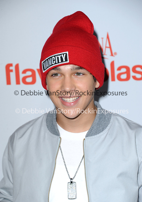 Austin Mahone attends The Aquafina FlavorSplash Launch held at Sony Pictures Studios  in Culver City, California on October 15,2012                                                                               © 2013 Hollywood Press Agency