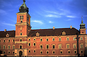 Warsaw, Poland. The Royal Castle in the Old Town.