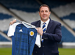 Malky Mackay at Hampden today for his appointment as the new SFA Performance Director