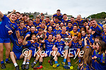 Spa team celebrate after winning the Intermediate Club Championship  after defeating Beaufort in the final in Fitzgerald Stadium on Sunday