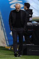 Stefano Pioli coach of AC Milan dejection during the Serie A football match between Benevento Calcio and AC Milan at stadio Ciro Vigorito in Benevento (Italy), January 03rd, 2021. <br /> Photo Cesare Purini / Insidefoto