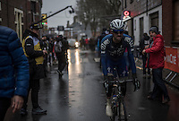 Dries Devenyns (BEL/Quickstep Floors) rolling in after finishing<br /> <br /> GP Le Samyn 2017 (1.1)