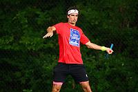 Feliciano Lopez (ESP) practices ahead of the 2021 Citi Open